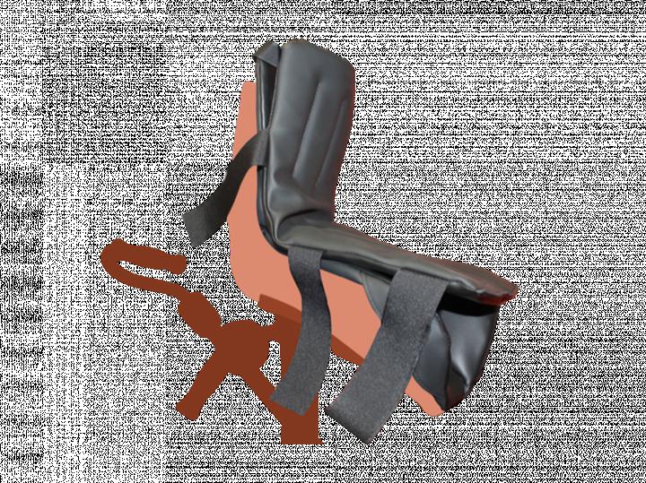 Coussin pour garniture de bottes