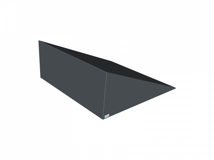 Coussin triangulaire rectangle