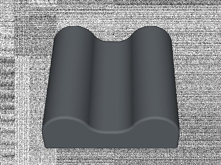Têtière rectangulaire